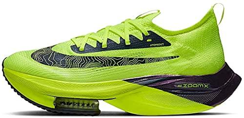 Nike NK Air Zoom ALPHAFLY Next% FK, Zapatillas para Correr Hombre, Volt Black Racer Blue Multi Color White, 42.5 EU