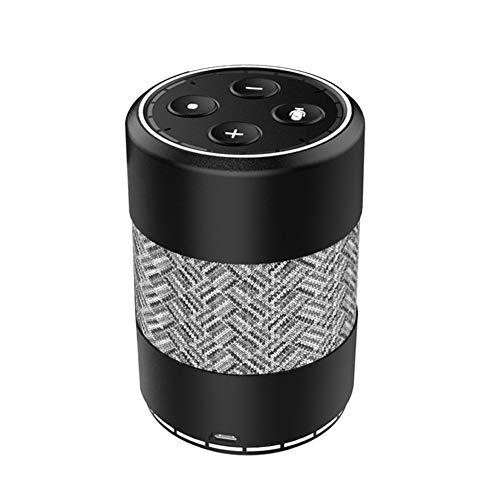 Y-SOUND Mini-Bluetooth-Lautsprecher Mit Echtzeit-Temperatur, Wecker-Klingelton, Bluetooth-Anruflautsprecher, FM-Radio-Aux, TF-Karteneingang, Android, Microsoft, IOS