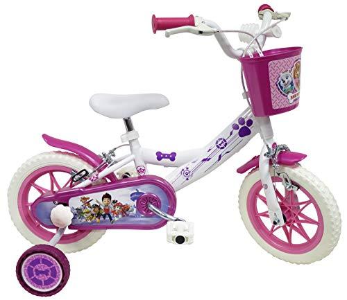 Pat Patrol Skye/Stella - Bicicleta Infantil de 12 Pulgadas (2 a 4 años)