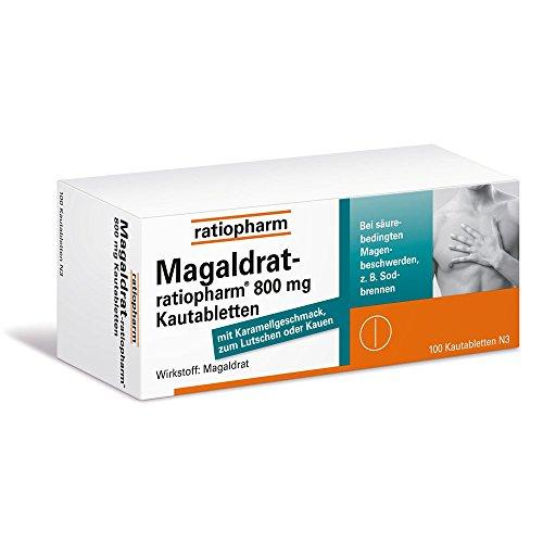Magaldrat-ratiopharm 800m 100 stk