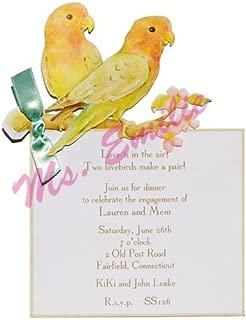 Love Birds Die-cut Card, Pack of 10