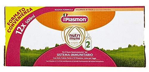 Plasmon Latte Liquido Nutri-Mune 2 - 12 Pezzi