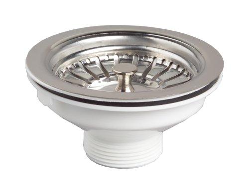 Küche Becken Drain Dotierstoffsenke Abfall Siebkorb Leach Plug Stahl 90mm 6/4 '
