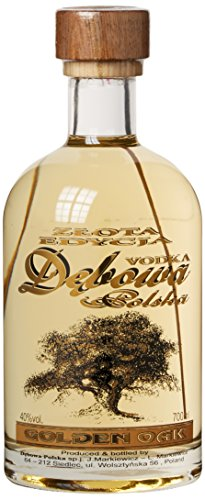 Debowa Golden Oak Vodka, 1er Pack (1 x 700 ml)