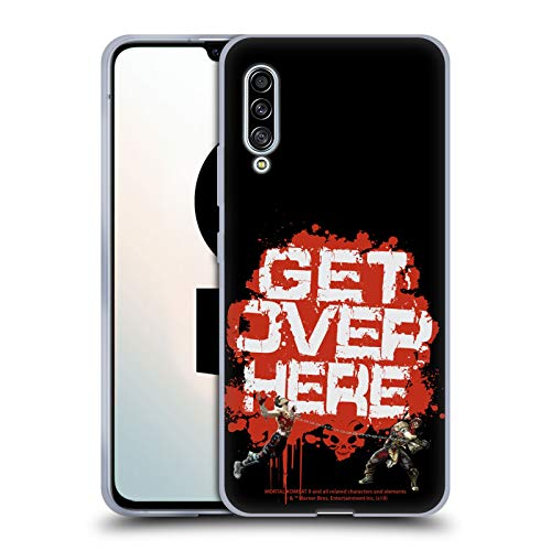 Official Mortal Kombat 9 Get Over Here Key Art Soft Gel Case Compatible for Samsung Galaxy A90 5G (2019)