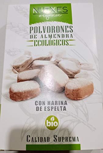 POLVORONES DE ALMENDRA ECOLOGICOS 2X200G.