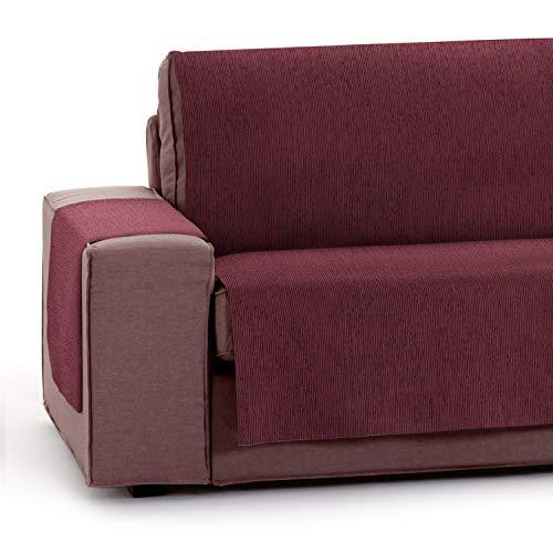 Vipalia Funda Cubre Sofa Ajustable. Fundas para Sofa Invierno Verano. Protector Funda Sofa Algodon. Cubresofas Antimanchas. Color Rojo. Cubre Sofa 2 Plaza (115 cm)