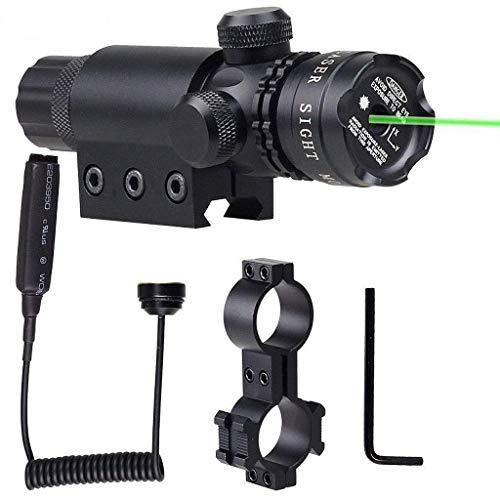 IRON JIA S Ajustement extérieur Verte visée Laser Fusil Laser portée avec gratuits Dovetail Montage 8 Chiffre Monte