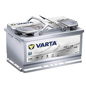 Bateria coche VARTA E39 Silver Dynamic Start Stop Plus AGM 12V 70Ah 760A positivo derecha diseñada para vehículos Start-Stop