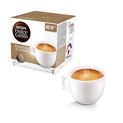 Kaffeepads Kapseln Dolce Gusto Original Nescafe \'Caffe 112 ESSENZA DI MOKA