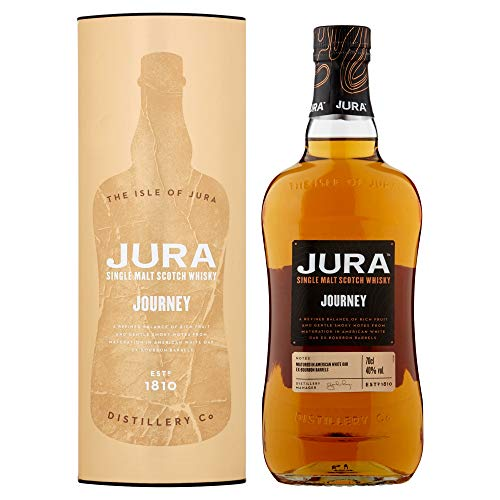Jura Journey Single Malt Scotch Whisky mit Geschenkverpackung (1 x 0,7 l)