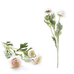 TRRT Fake Plants Artificial Silk Flowers Dew Lotus, aDecoration Fake Flower Noble Royal Family Fake Flower