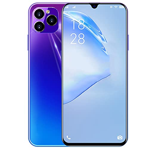 lei shop Smartphone Pantalla Completa de 6.5 Pulgadas,4GB+128GB,cámara de 41 MP,reconocimiento Facial,desbloqueo de Huellas Dactilares Laterales,batería de Gran Capacidad de 5800mAh.