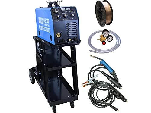 Güde Inverter Schutzgas Elektroden Schweißgerät GIS 200 inkl. 5 kg Schweißdraht