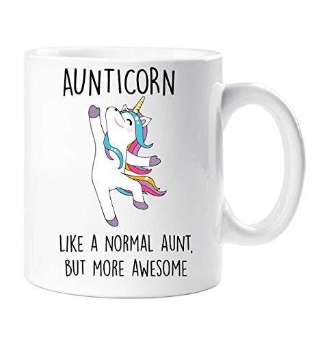 60 Second Makeover® Aunticorn Mug Auntie Unicorn Aunt Aunty Funny Mug Present