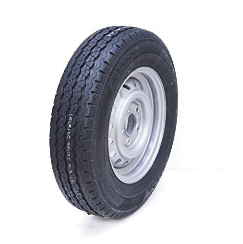 Parnells 165R13C 5 Bolzen 112mm PCD Anhänger Rad und Reifen Wanda WR082 Reifen 670kg