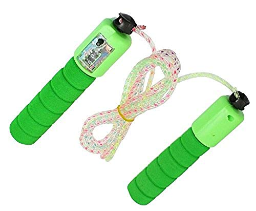 N M Z Jump Rope Digital Counting Calorie Jump Counter Jump Ropes Fitness Sport Skipping Ropes Indoor/Outdoor Workout Skipping Ropes
