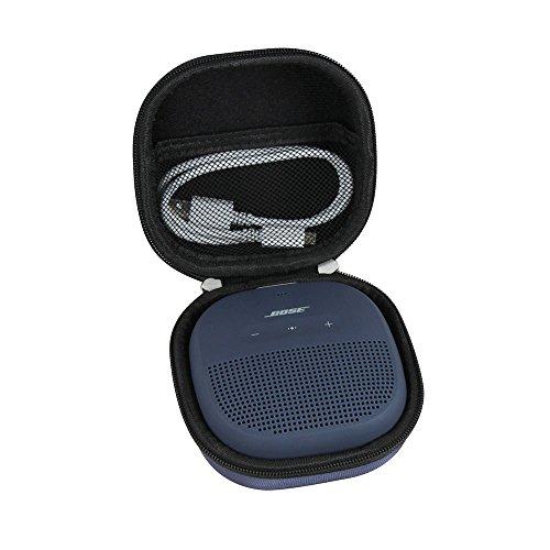 Hermitshell Hard EVA Travel Black Case Fits Bose SoundLink Micro Bluetooth Speaker