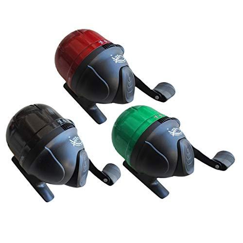HomeDecTime Mulinello da Pesca 3X Nylon Spincast Mulinello Under-Spin A Faccia Chiusa