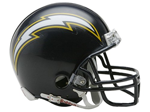 Riddell San Diego Chargers Replica Mini Helmet w/ Z2B Face Mask