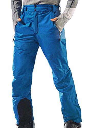 Crivit® Herren Skihose Atmungsaktiv Versiegelte Haupnähte 3M® Thinsulate Hellblau Gr. 54