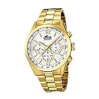 Reloj Lotus Hombre En Acero Con Cronografo 18153/1