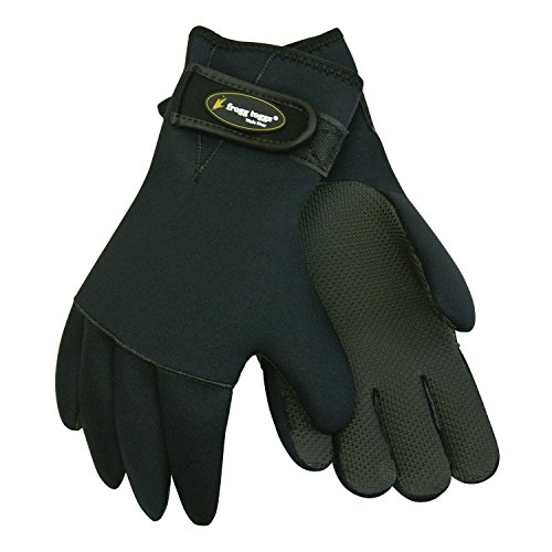 Frogg Toggs Frogg Fingers 3.5mm Neoprene Gloves, X-Large 2X-Large , Black