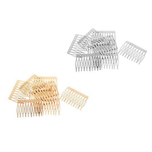 Baoblaze Peigne à Cheveux pour Femmes Filles (20pcs)