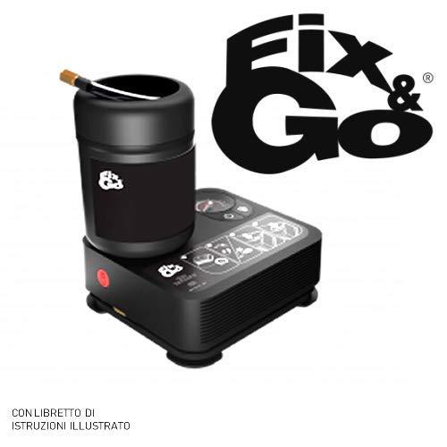 Fix&Go Automatic Tek Airflat compressor-set voor het opblazen van banden, 450 ml, snel en eenvoudig te repareren