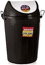 Aristo Swing Lid Garbage Waste Dustbin 60 LTR (Black)