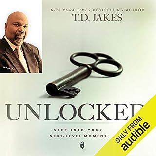 Unlocked audiobook cover art