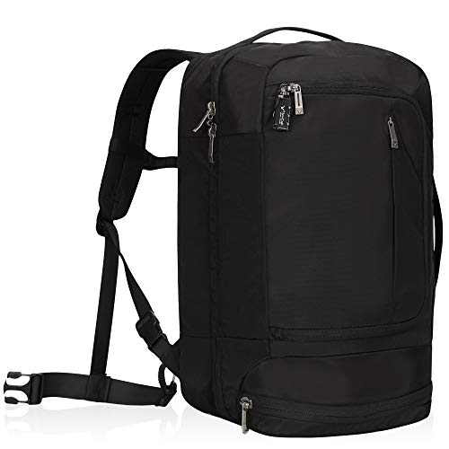 Hynes Eagle Cabin Approved Backpack 54 x 35 x 23 cm Carry-On Anti-Theft Travel Rucksack for Business Fits 17 Inch Laptop