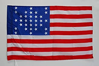 AZ FLAG United States Battle of Fort Sumter 1861 Flag 2' x 3' for a Pole - USA - American Historic Flags 60 x 90 cm - Banner 2x3 ft with Hole