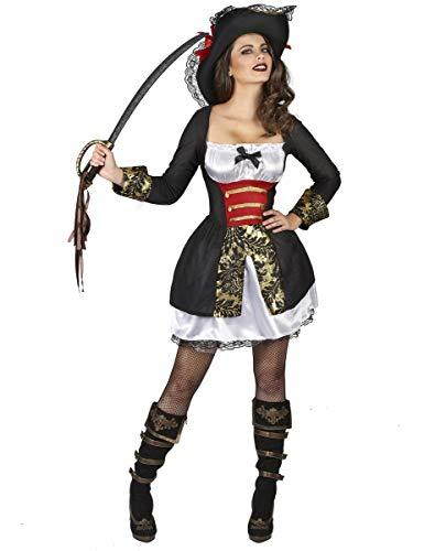 Generique - Disfraz de corsaria Sexy Mujer M