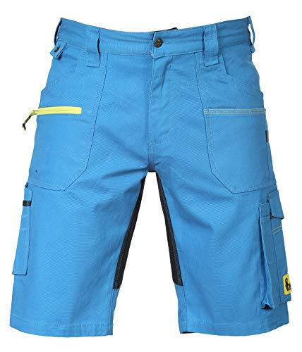 CXS Stretch - Herren Arbeitsshorts, Kurze Arbeitshose- Hochwertige, komfortable und atmungsaktive elastische Kurze Arbeitshose für Herren mit modernem Schnitt (Größen: 46-64)