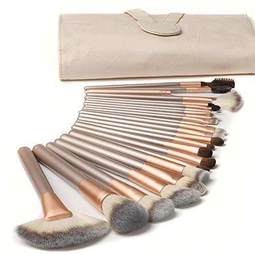 ☀️Questo set di pennelli per trucco alla moda e conveniente è con pennelli per trucco di alta qualità progettati per un uso professionale che ti daranno un'applicazione impeccabile per il trucco di viso e occhi ☀️Questi pennelli per il trucco sono se...