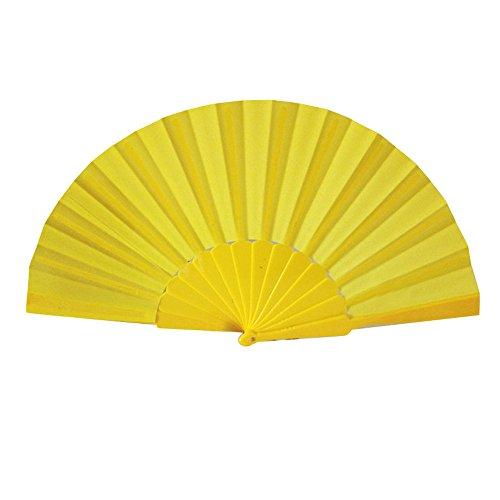 Takkar - Abanico Plegable de plástico Chino, Abanico para decoración de Bodas,...