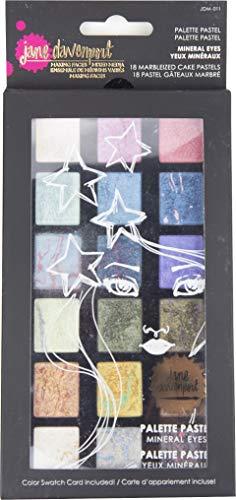 Spellbinders Jane Davenport-Palette Yeux minéraux pastel mélangés 18