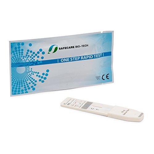 10 x Drogentest zur Bestimmung von Kokain im Speichel - Speicheltest - Drogenschnelltest