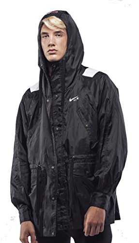 NIKE NikeLab x Riccardo Tisci Men's Jacket (L, Black/White)