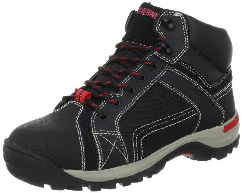 Wolverine Men's Chisel Mid Steel Toe Hiking Boot,Black,13 M US