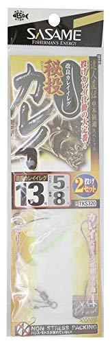 ささめ針(SASAME) TKS320 特選達人直伝 秘投カレイ 13号