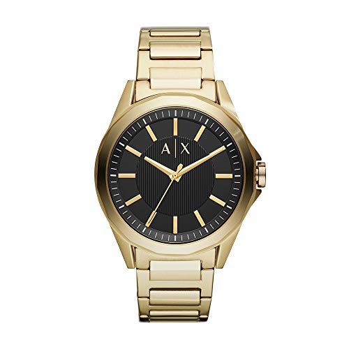 Reloj Armani Exchange Smart para Hombres 44mm, pulsera de Acero Inoxidable