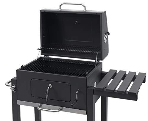 Tepro 1164 Toronto Click 2019 Barbecue a carbone, Acciaio inox, Antracite