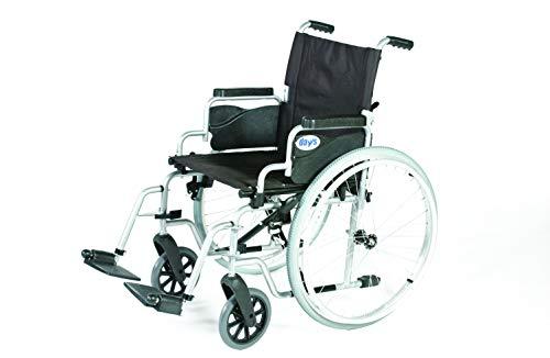 Whirl Eigenantrieb Rollstühle, 41 cm Sitztiefe, Folding Mobility Gerät für feste Innen Transporation und einfache Lagerung, Compact Rollstuhl für Senioren, Behinderte, und behinderte Nutzer