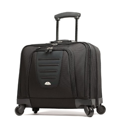 Samsonite Mobile Office Spinner Wheeled Briefcase, Black, One Size