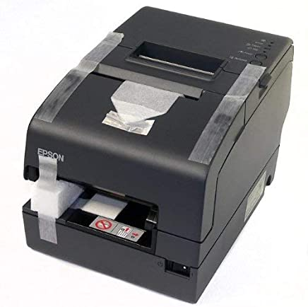 $255 » Epson C31CB25024 TM-H6000IV Multifunction Printer, 9 Pin, MICR and Endorsement, Serial and USB Interfaces, Without PS-180, Dark Gray (Renewed)