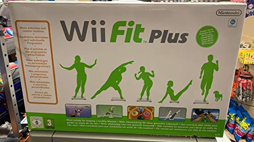 Nintendo Wii Fit Plus mit Wii Fit Balance Board