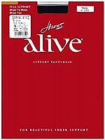 (ヘインズアライブ)Hanes alive 810 ガードルタイプ ジェット(ブラック) B(M-L) パンティストッキング(パンスト)