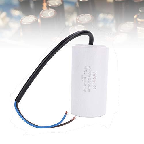 Kondensator 40uf,Capacitor CBB60 Umweltfreundlicher Motorbetriebskondensator 450V 40uf ESR 0.2 Startkondensator Kondensator für elektrische Haushaltsgeräte,sehr langlebig